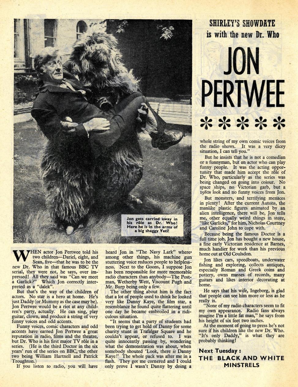 June and School Friend, 7 February 1970