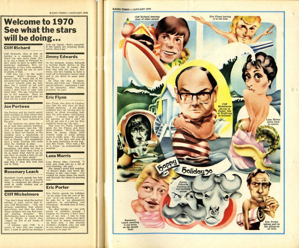 Radio Times, 3-9 January 1970