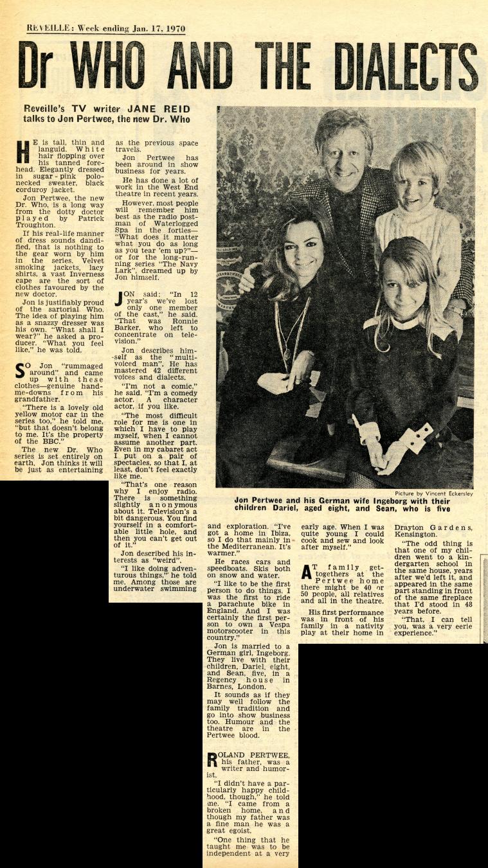 Reveille, 17 January 1970