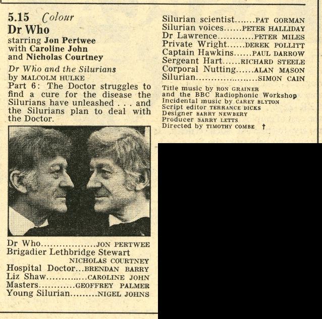 Radio Times, 7-13 March 1970