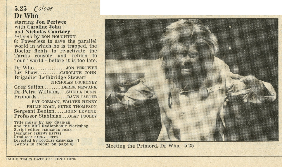 Radio Times, 13-19 June 1970