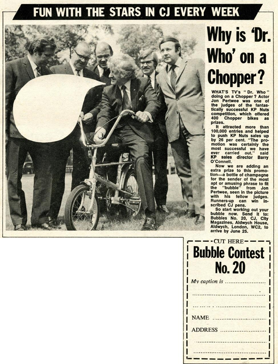 Competitors Journal, 19 June 1971