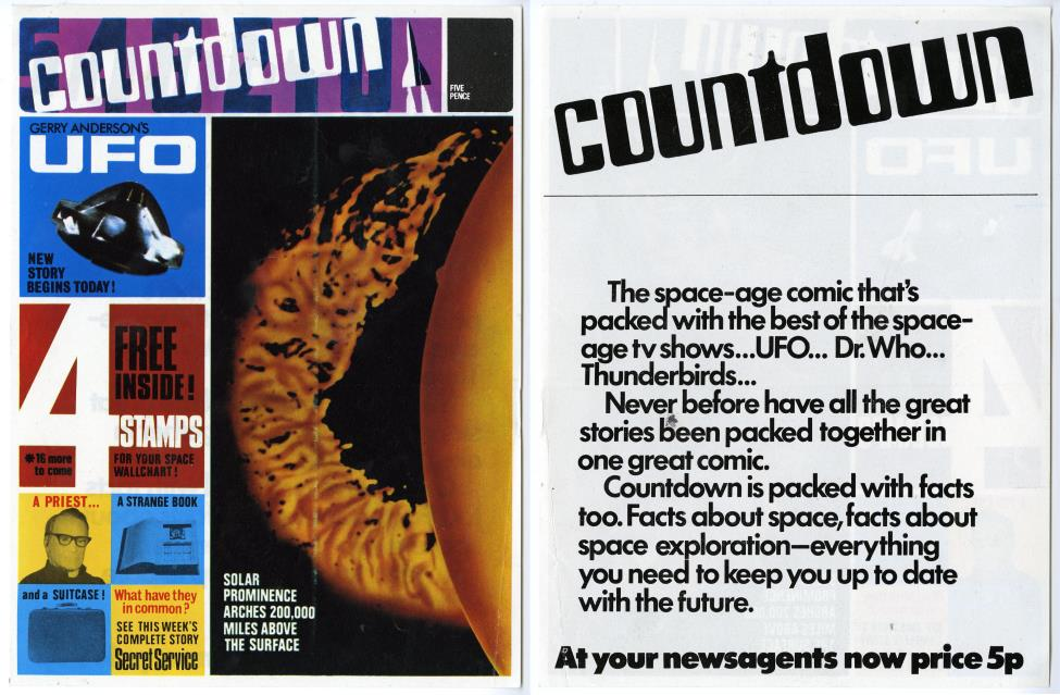 Advertising promo for Countdown issue 2