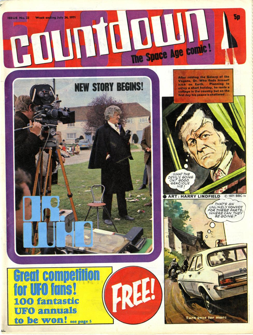 Polystyle Publications, Countdown issue 23, 24 July 1971
