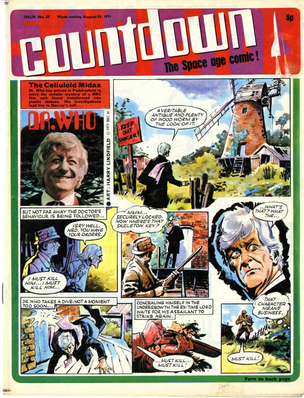 Polystyle Publications, Countdown issue 27, 21 August 1971