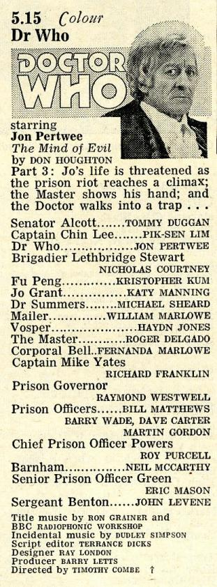 Radio Times, 13-19 February 1971