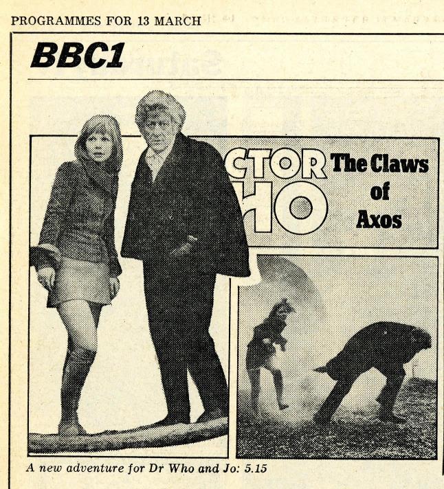 Radio Times, 13-19 March 1971
