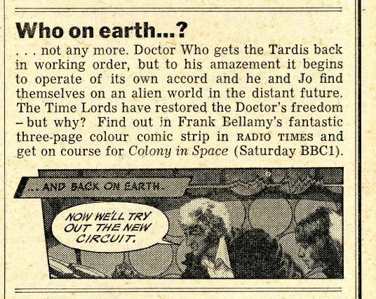 Radio Times, 3-9 April 1971