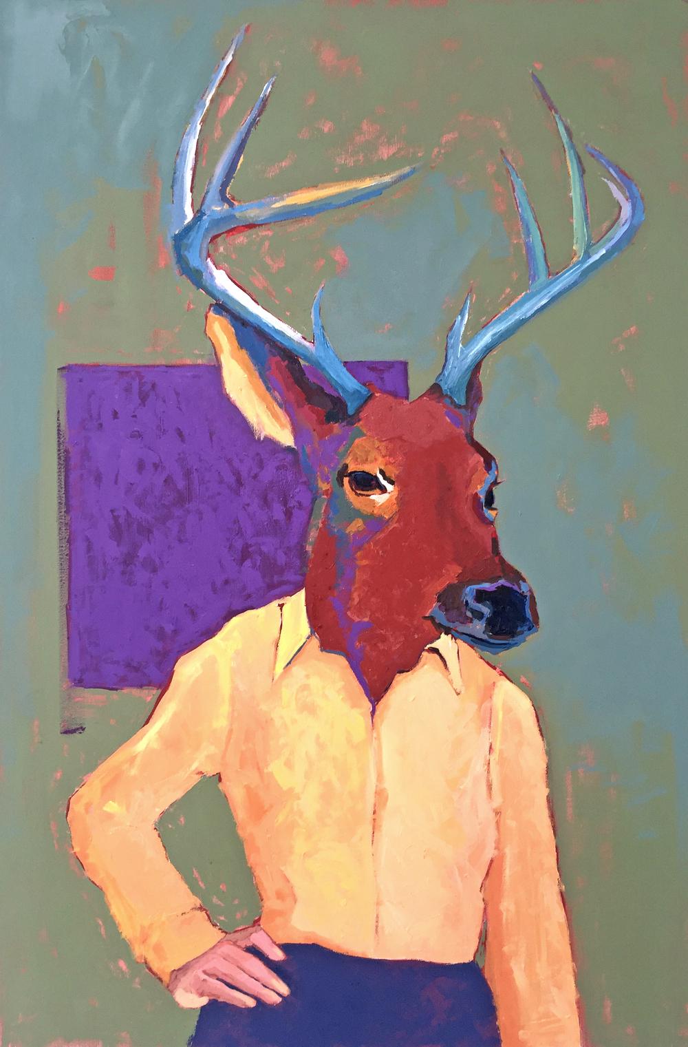 A Female Deer