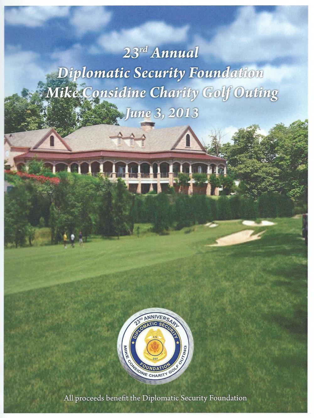 2013 Golf Program