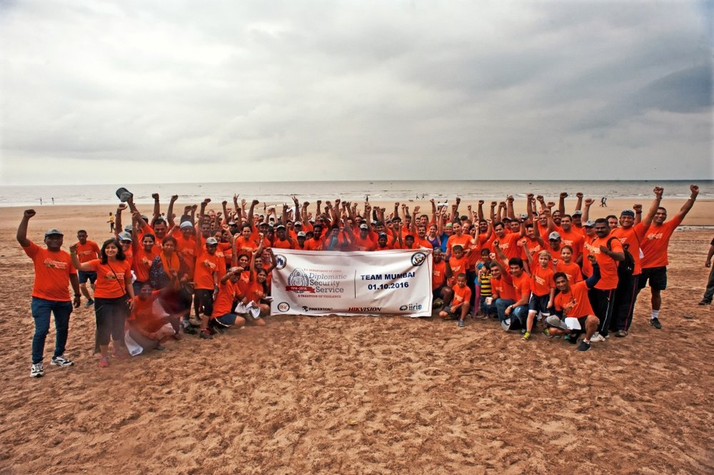 RSO Mumbai and the OSAC Mumbai Chapter held a beach race raising $  1271.93 for DSF