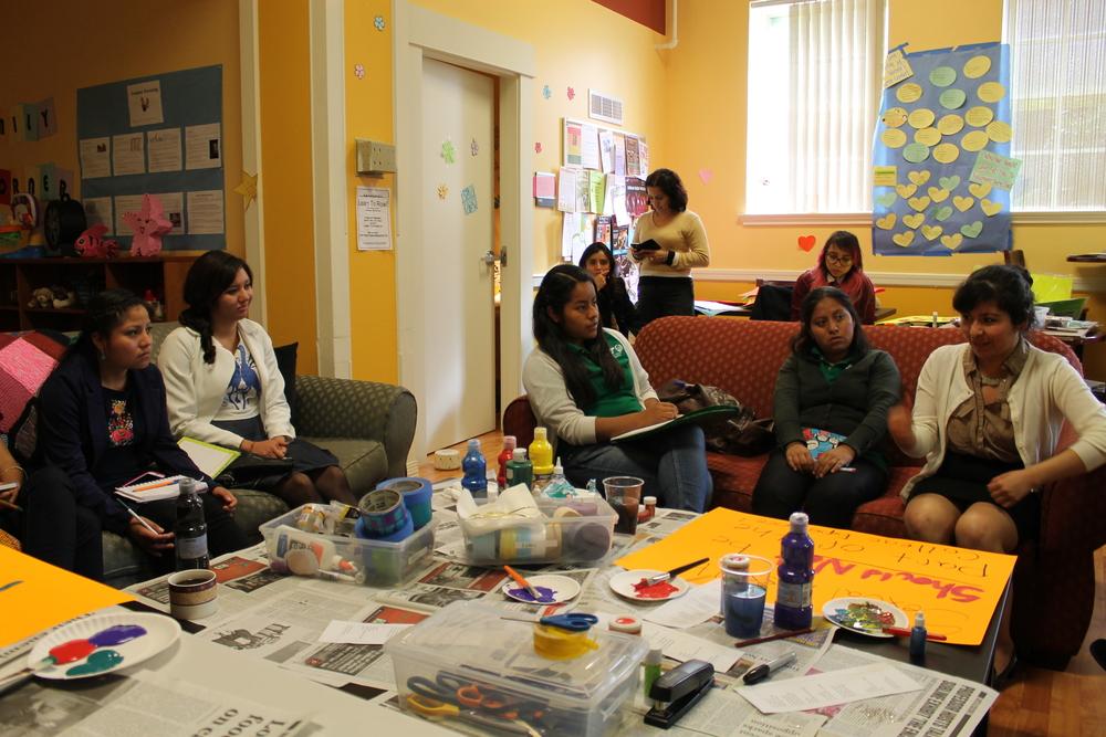 visit to PSU's Women's Resource Center
