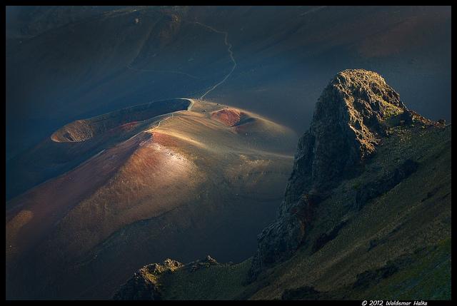 Haleakala looks like the moon!