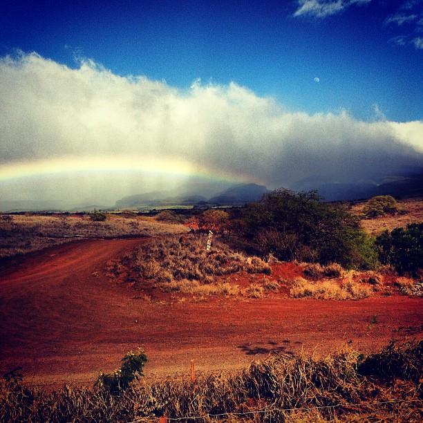Maui Rainbow (Taken with Instagram)