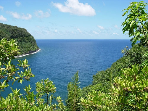 Honomanu Bay on the Road to Hana