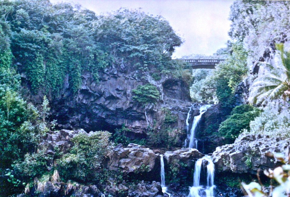 The Seven Pools of Ohe'o on the Road to Hana in Maui. Find adventure and romance. Here.