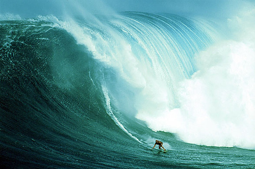 Dreaming of huge waves. Respect the power of Jaws. It's so easy to die here. #maui #hawaii #adventure