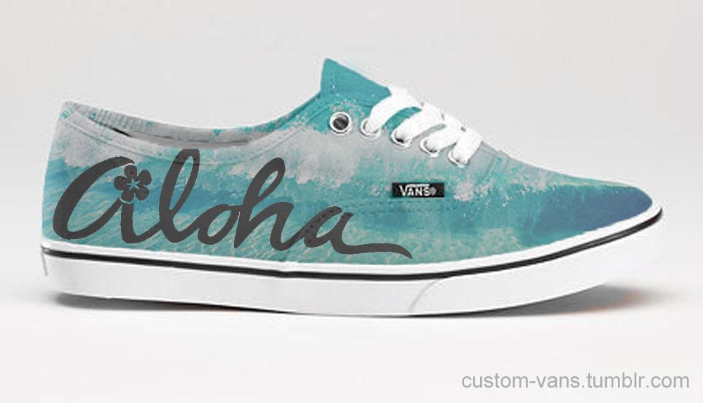 Aloha Friday for your feet! #vans