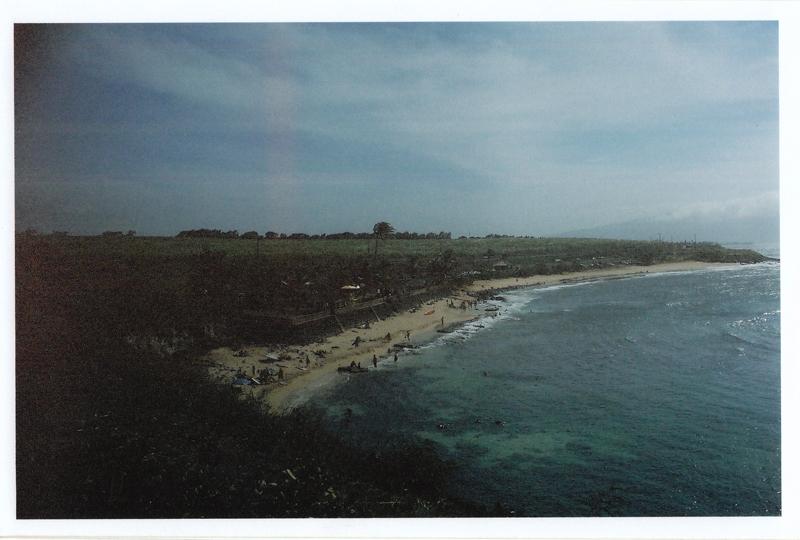 Vintage Ho'okipa. Road to Hana Maui.