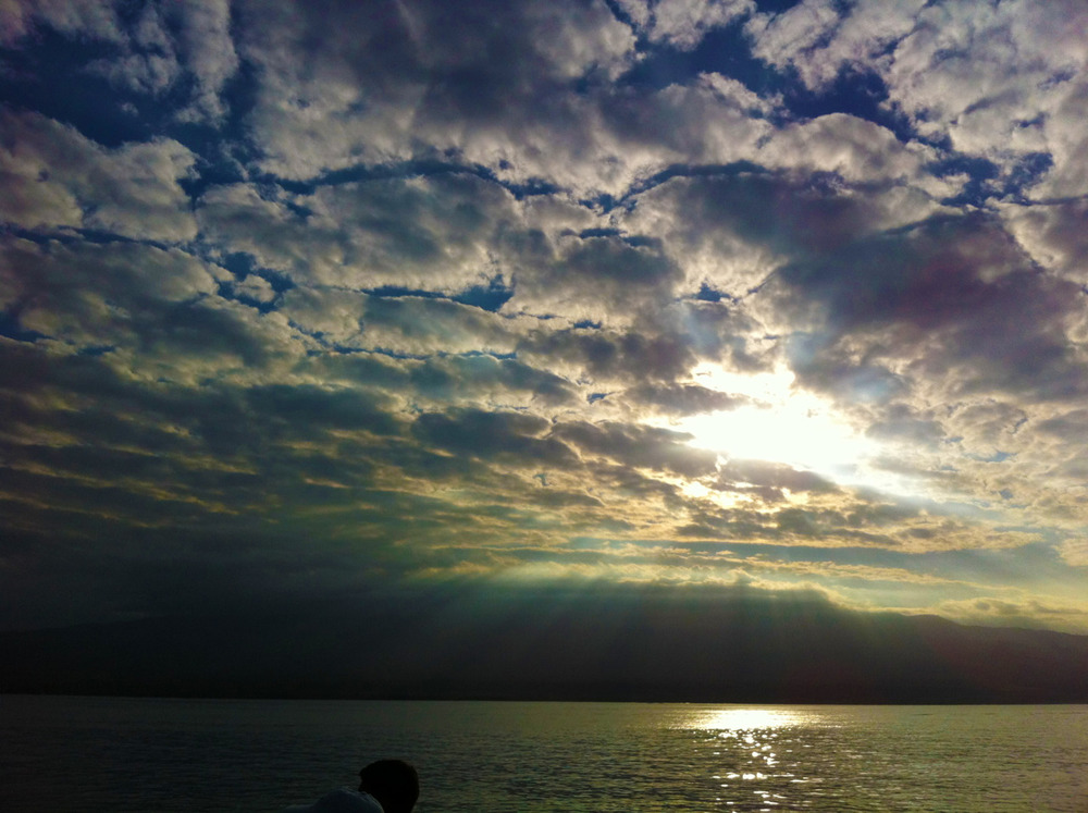 Nothing says ADVENTURE and ROMANCE like a sunrise over Maui.