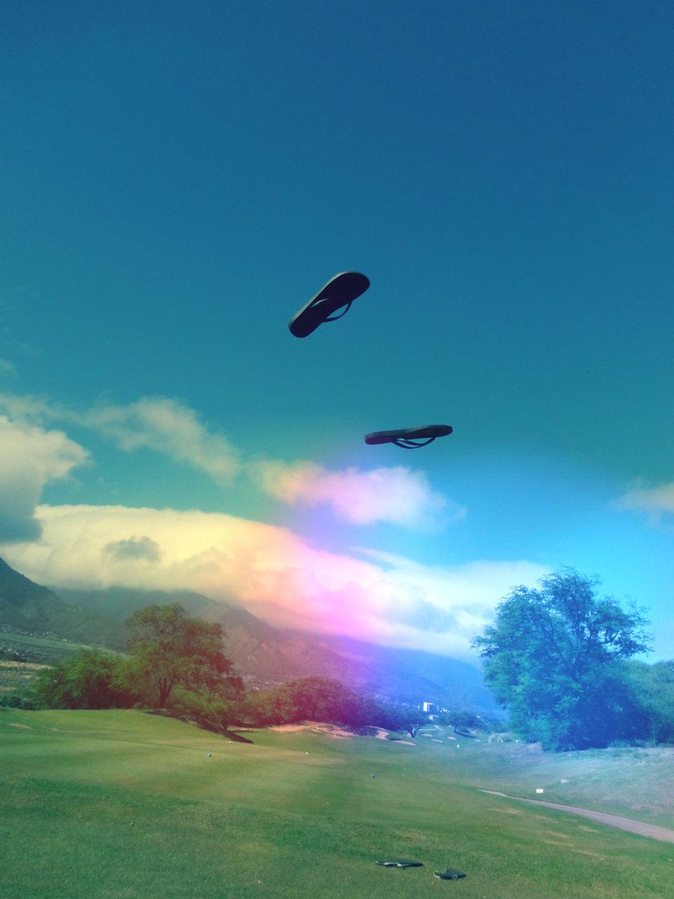 Flying slippers. #adventure #romance #maui