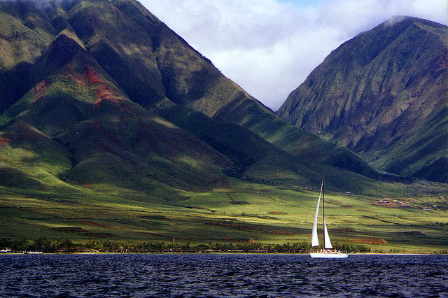 Happy = A Sailboat on Maui! by Kevin4.