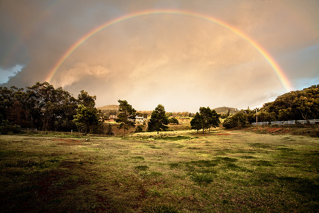 Somewhere under the rainbow. by Eric Rolph on Flickr.