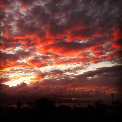 Fire in the sky on Maui #adventure #romance #maui