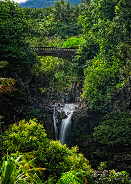 dhgc: On the Road to Hana by John C. House