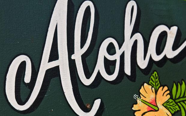It's Aloha Friday!