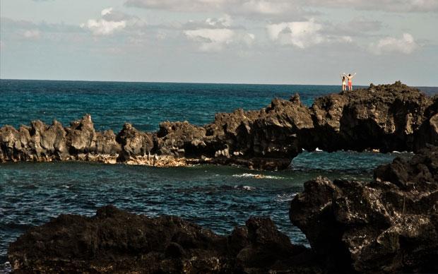 Sea arch!