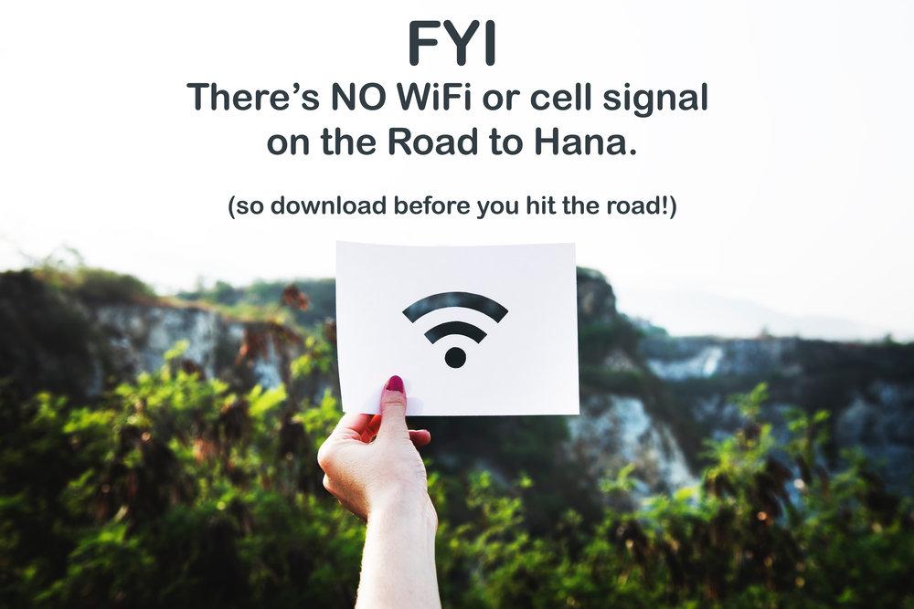 DRIVING TIPS — R2H : Road To Hana