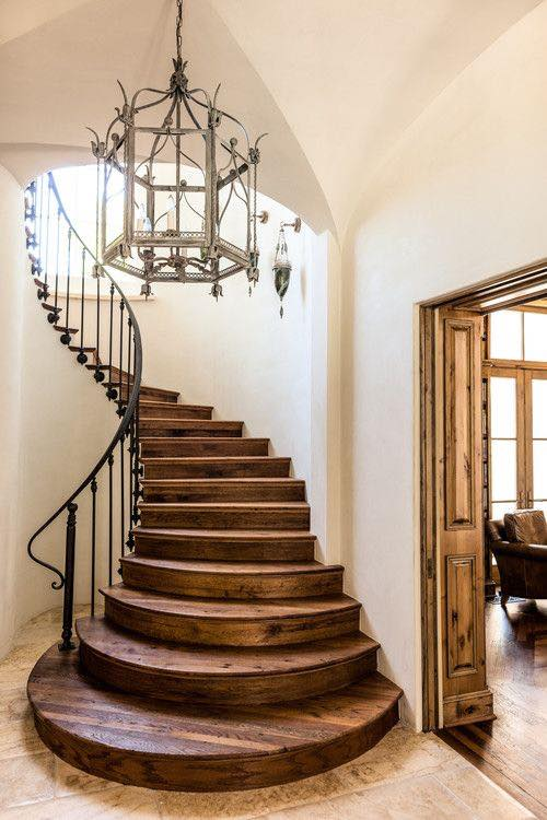 old world stairs just home