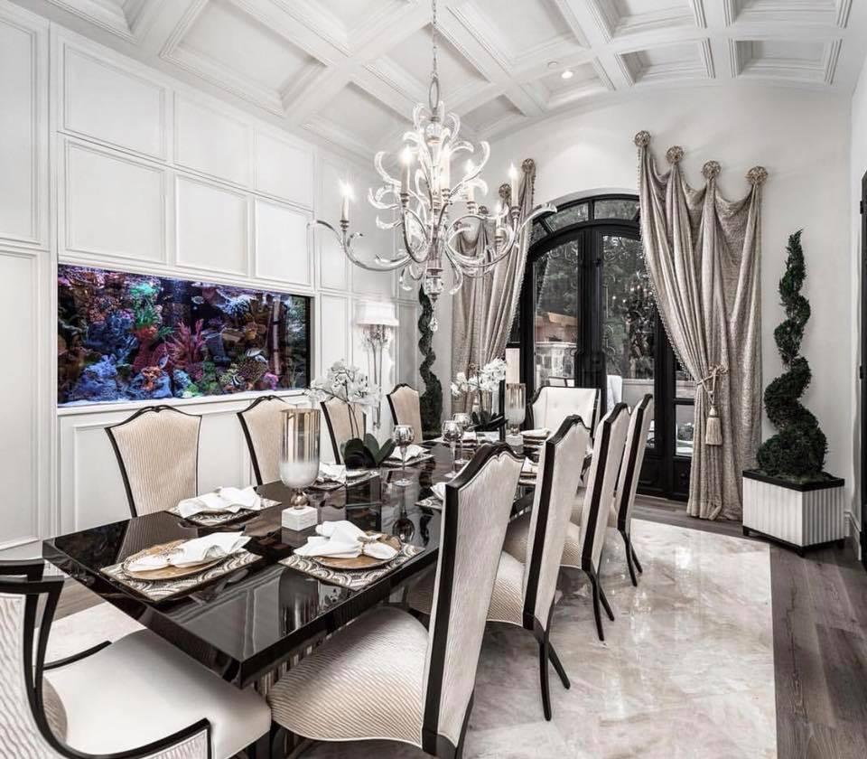 luxury chandelier just home