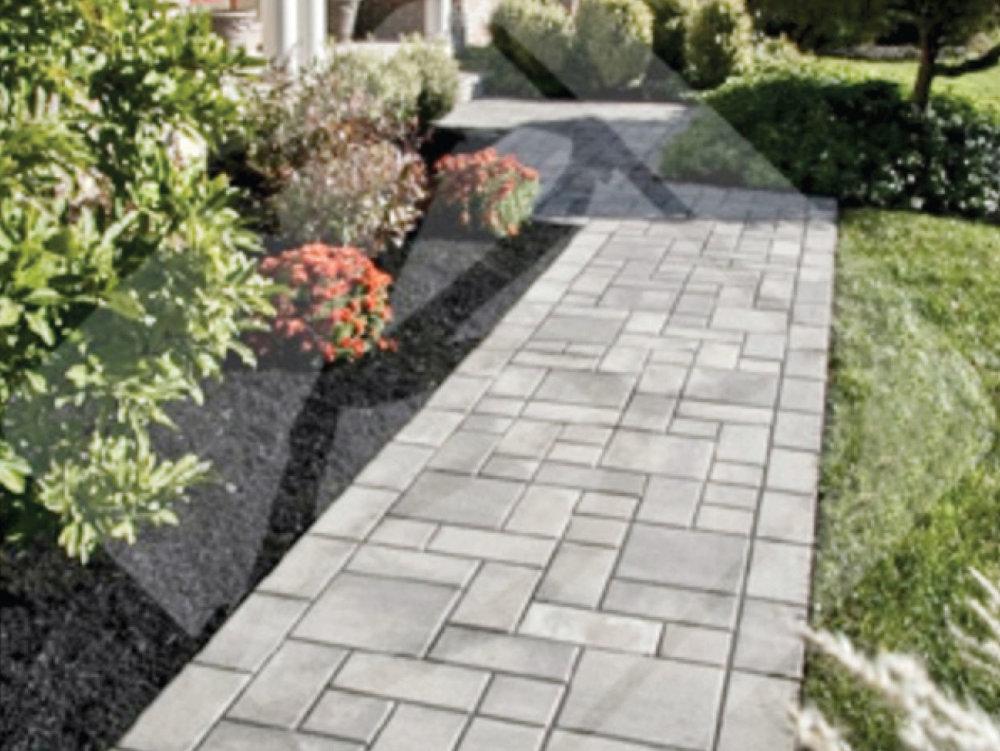 Bleu Stone Paving: Walkways