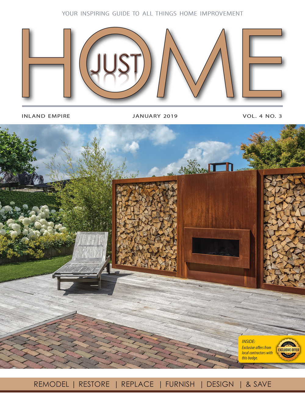 INLAND EMPIRE  - Just Home January 2019 ISSUE
