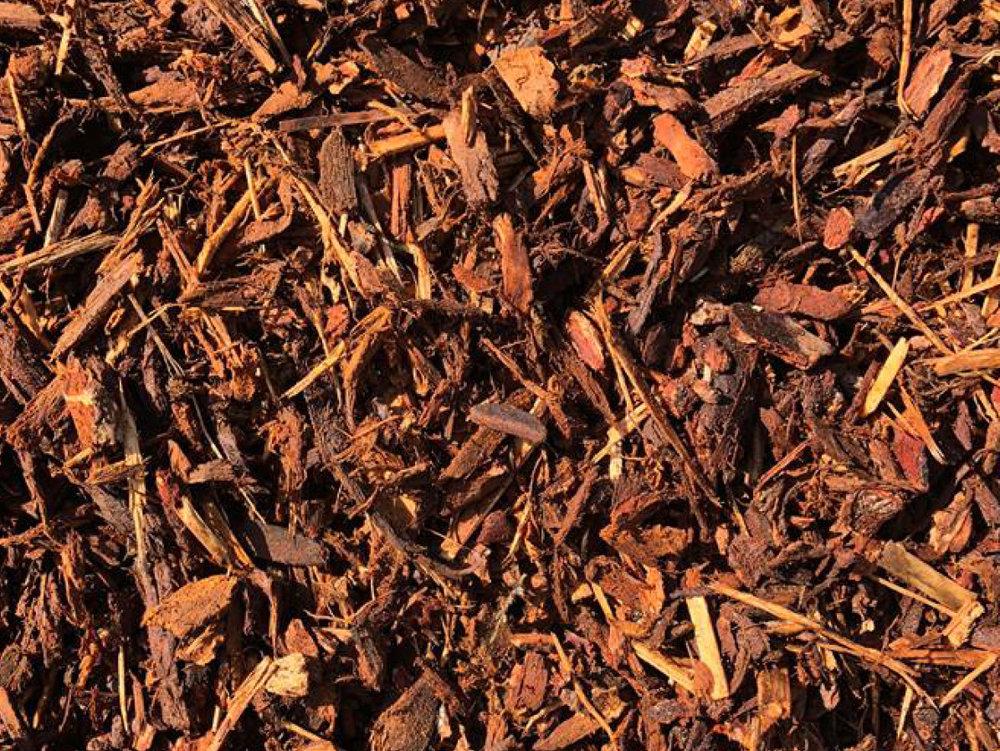 EASTMAN SOIL PRODUCTS: SHREDDED FIR BARK (WALK- ON)