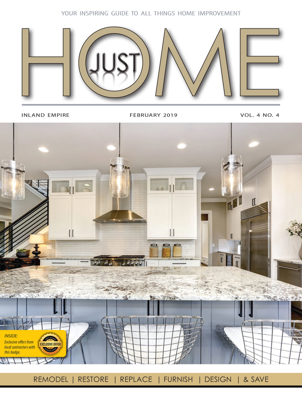 INLAND EMPIRE  - Just Home FEBRUARY 2019 ISSUE