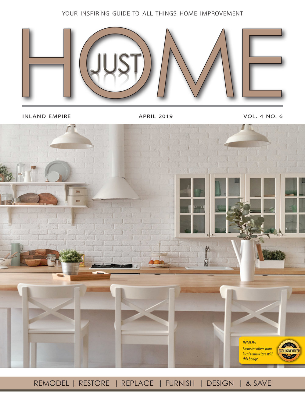 Just Home RIV April Issue 2019