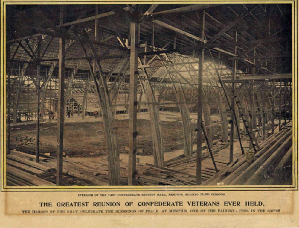 UCV Reunion Hall 1901. ( Historic Memphis )