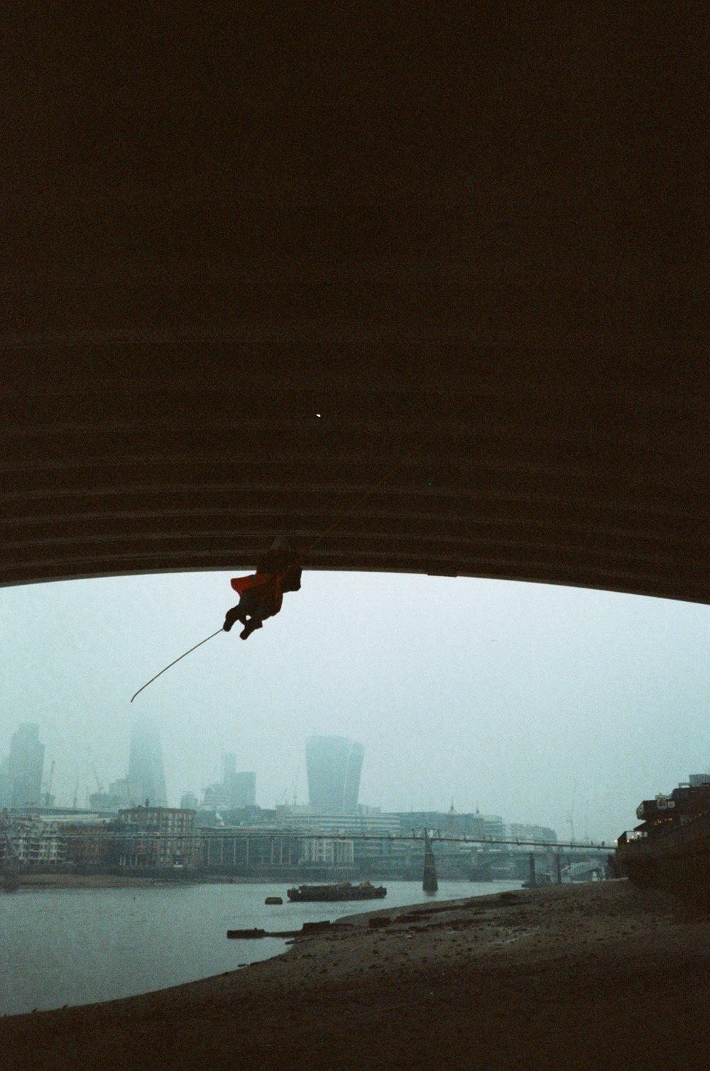 TK rope swing. (Credits Cristina Lina / Andrew Gillman)
