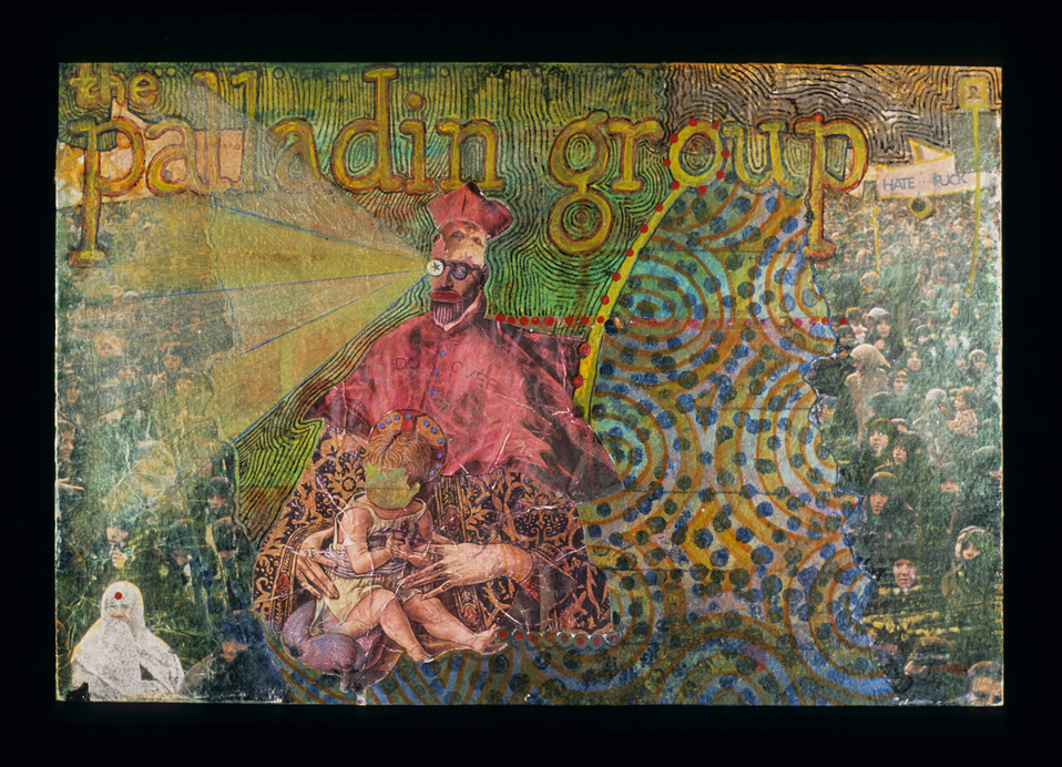 palladin group , 2004, Mixed media on paper, 10 x 15 inches. Private collection.