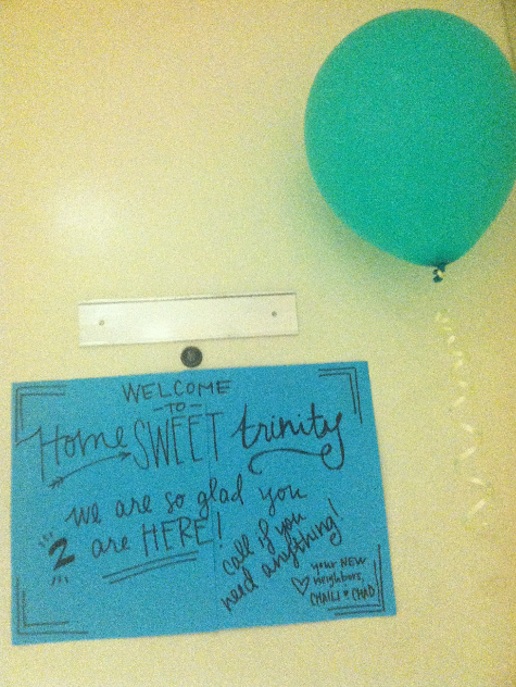 what a sweet welcome into our new home, from sweet friends who we are lucky to get to do life with again.