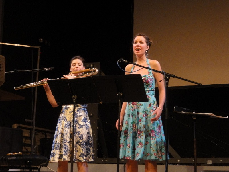 Performing with Kate Soper