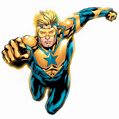 Michael Jon Carter, aka Booster Gold