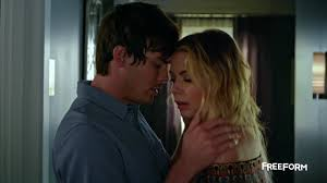 Hanna tells Caleb she's going to New York.