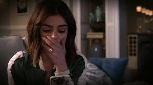 Aria's text from Ezra, relieved that Nicole wasn't one of the hostages and is coming home.