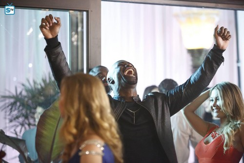 Amenadiel discovers the power of alcohol