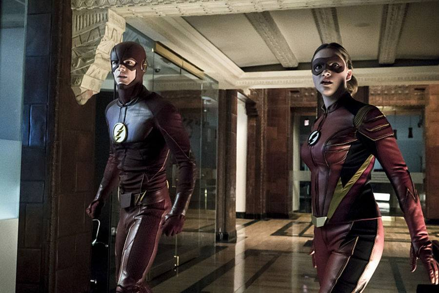 The Flash and Jesse Quick