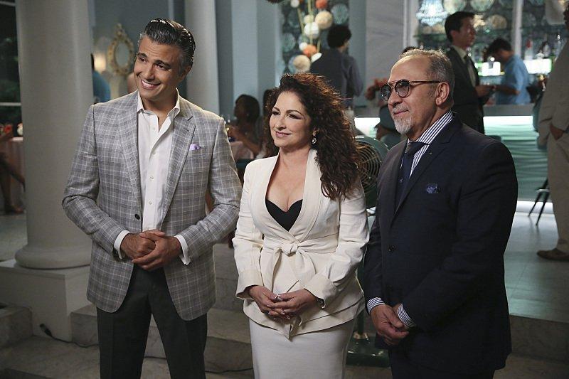 Rogelio and his BFFS Gloria and Emilio Estefan.